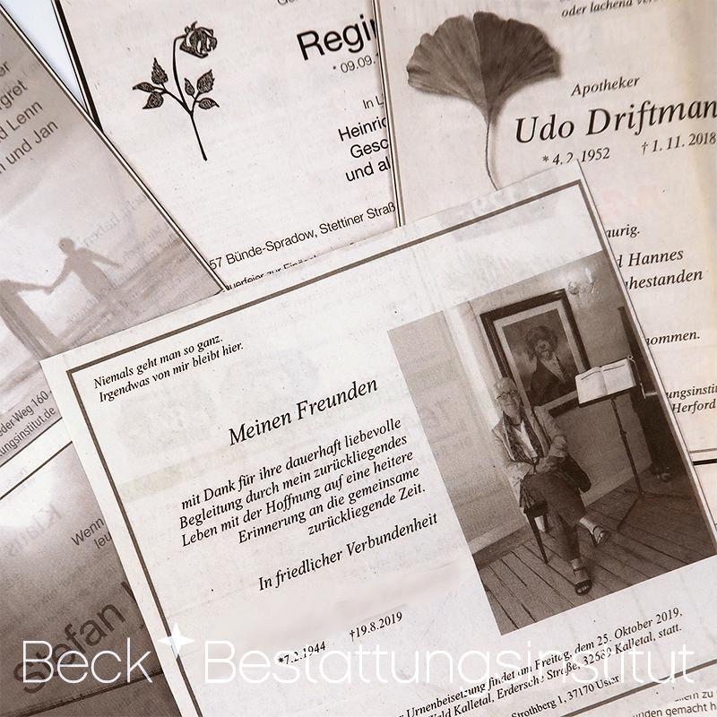 beck-bestattungsinstitut-trauerdruck-anzeigen